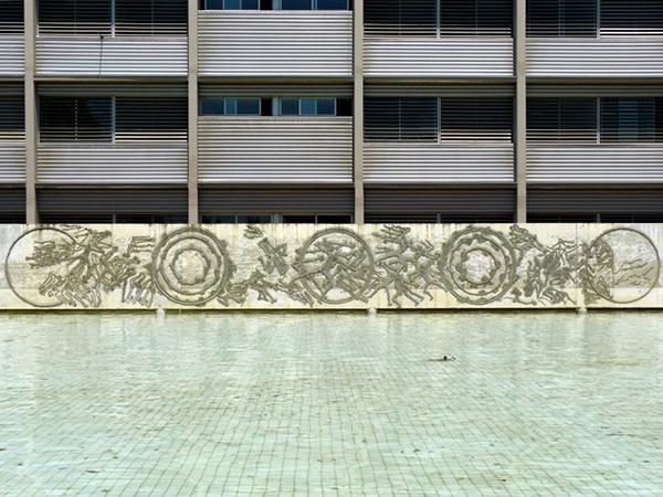 Exteriores. EINA  Ed. Ada Byron. Campus Río Ebro