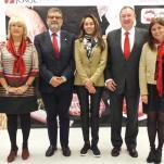 Representantes de la Universidad y del Grupo Jorge