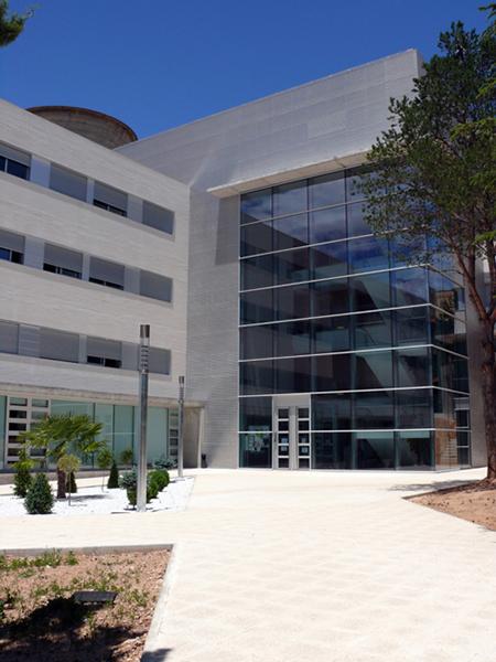 Fachada colegio mayor pablo serrano campus de teruel - Colegio aparejadores teruel ...