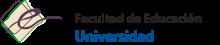 Logo Facultad de Educación